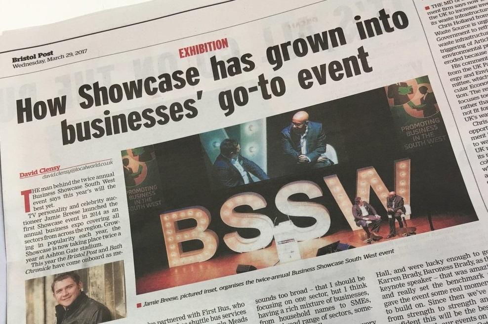Soitron sponsors the Bristol Showcase Expo 2017